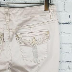 WHBM | Blanc skinny ankle stretch pants
